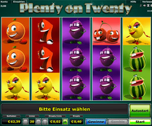 Plenty on Twenty online spielen